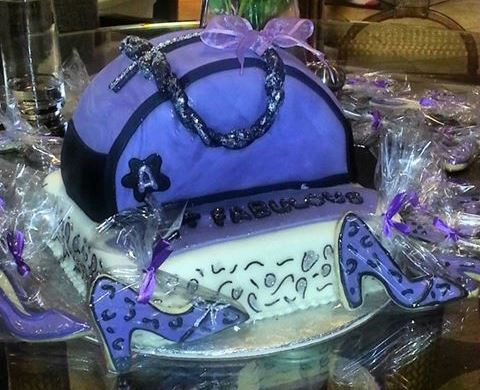 Sweet Elegance Cakes-By Tracie Purple Purse Cake