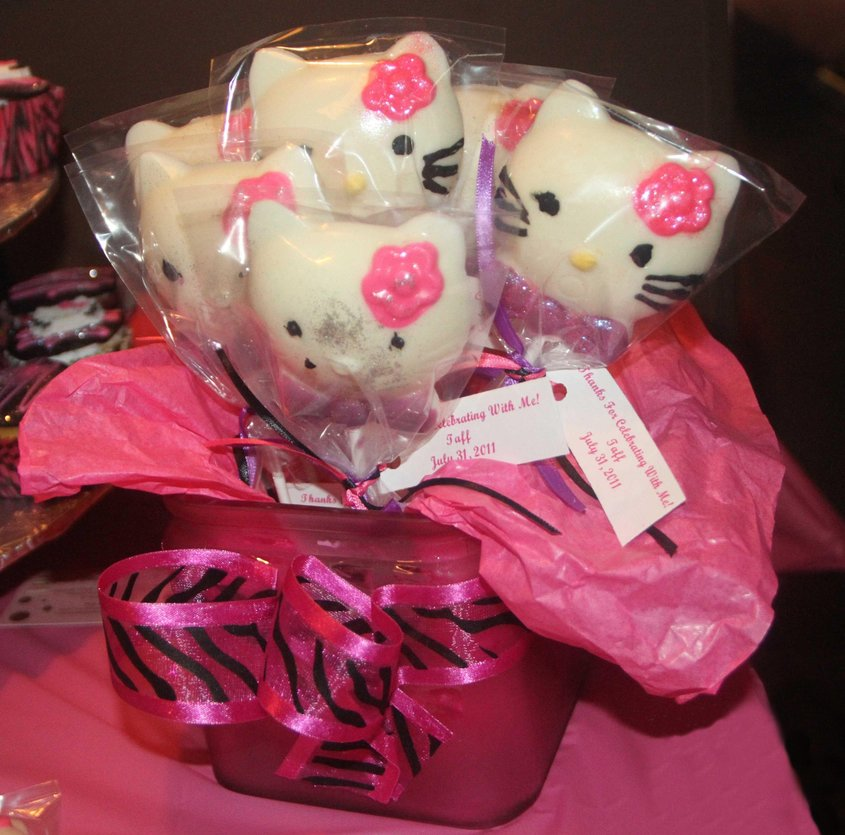 Sweet Elegance Cakes-By Tracie Hello Kitty Party Favors